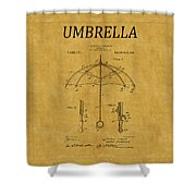 Umbrella Patent 1 Shower Curtain