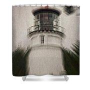 Umpqua Light Fantasy Shower Curtain