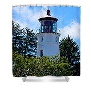 Umpqua River Lighthouse Shower Curtain