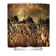 Un Illusione Shower Curtain