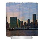 Un Sunset Shower Curtain