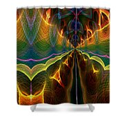Unbalanced Mind Shower Curtain