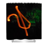 Unchained Melody Shower Curtain