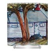 Uncle Bills Cottage Shower Curtain