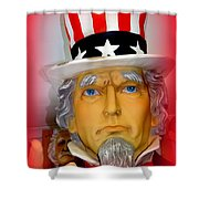 Uncle Sam Wants You Shower Curtain