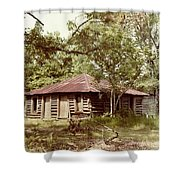 Uncle Toms Cabin Brookhaven Mississippi Shower Curtain