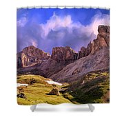 Uncompaghre Wilderness Shower Curtain