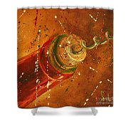 Uncorked Shower Curtain