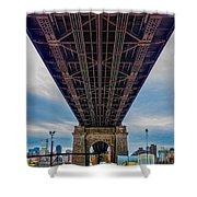 Under 59th Street Bridge Shower Curtain