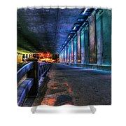 Under Lasalle St. Station Shower Curtain