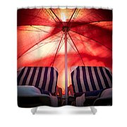 Under My Umbrella Shower Curtain
