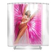 Under Myryka's Spell Shower Curtain