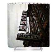 Under Regent Hotel  Shower Curtain