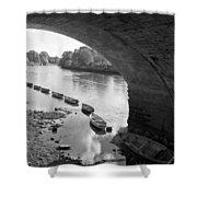 Under Richmond Bridge Shower Curtain