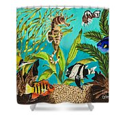 Under Sea Paradise Shower Curtain