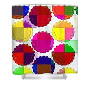 Under The Blanket Of Colors Shower Curtain