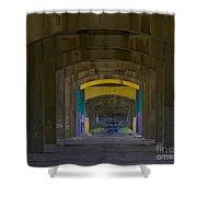Under The Bridge   #1247 Shower Curtain