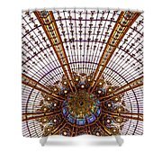 Under The Dome - Paris, France Shower Curtain