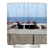 Under The Flag Shower Curtain