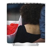 Under The Full Protection - Featured 3 Shower Curtain by Alexander Senin