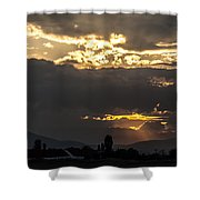 Under The Lights  Shower Curtain