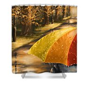 Under The Rain Shower Curtain