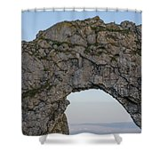 Under The Rising Moon Shower Curtain