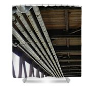 Under The Riverfront 3 Shower Curtain