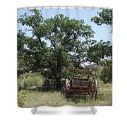 Under The Shade Tree Shower Curtain