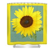 Under The Sunflower's Spell Shower Curtain