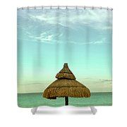 Under The Umbrella Shower Curtain