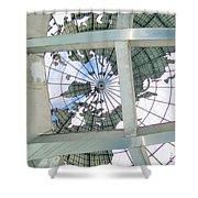 Under The Unisphere Shower Curtain
