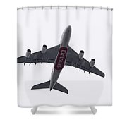 Undercarriage Shower Curtain
