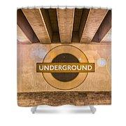 Underground Underground Shower Curtain