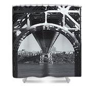 Underneath The George Washington Bridge Iv Shower Curtain