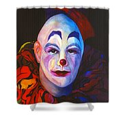 Underneath The Laughter Shower Curtain