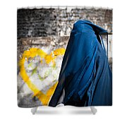 Underneath... There Is My Heart Shower Curtain