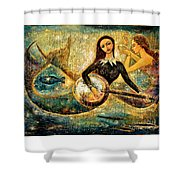 Undersea Shower Curtain