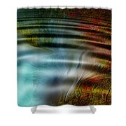 Undersea Vent Shower Curtain