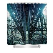 Underside Of A Bridge, Hudson Valley Shower Curtain