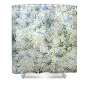 Underwater Abstract Shower Curtain