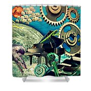Underwater Dreams Shower Curtain