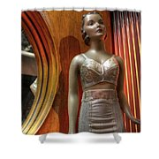 Underwear Model Shower Curtain
