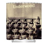 Underwood Shower Curtain