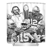 Undisputed Champions Shower Curtain