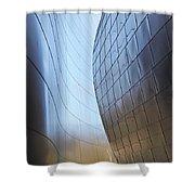Undulating Steel Shower Curtain
