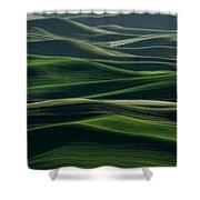 Undulations Shower Curtain