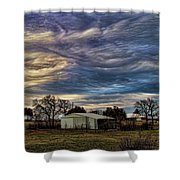 Undulatus Asperatus Skies 1 Shower Curtain