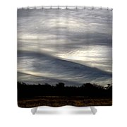Undulatus Asperatus Skies 2 Shower Curtain