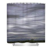 Undulatus Asperatus Skies 3 Shower Curtain